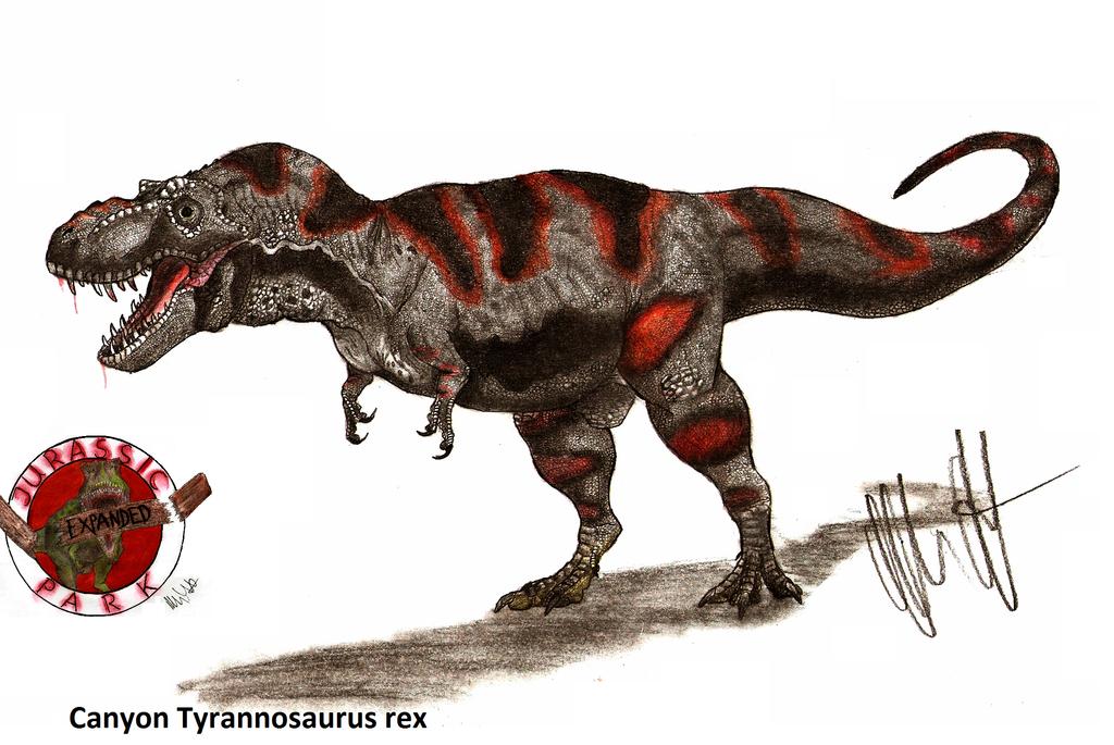 Tyrannosaurus Canyon JP-Expanded Canyon Tyr...