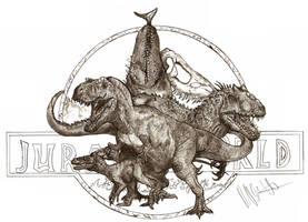 Jurassic World by Teratophoneus