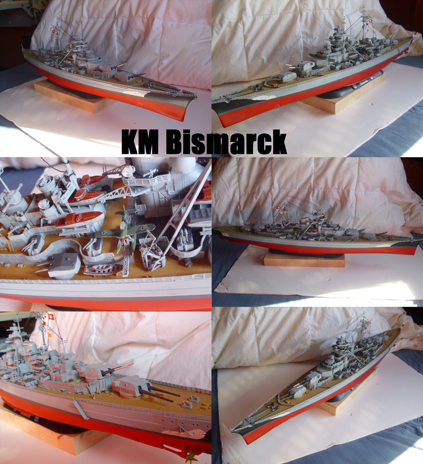 Battleship Bismarck by Teratophoneus