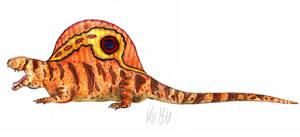 Dimetrodon by Teratophoneus