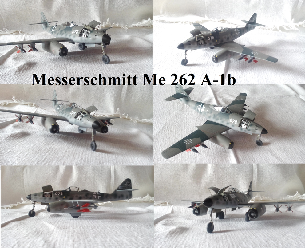 Me 262 A1b by Teratophoneus