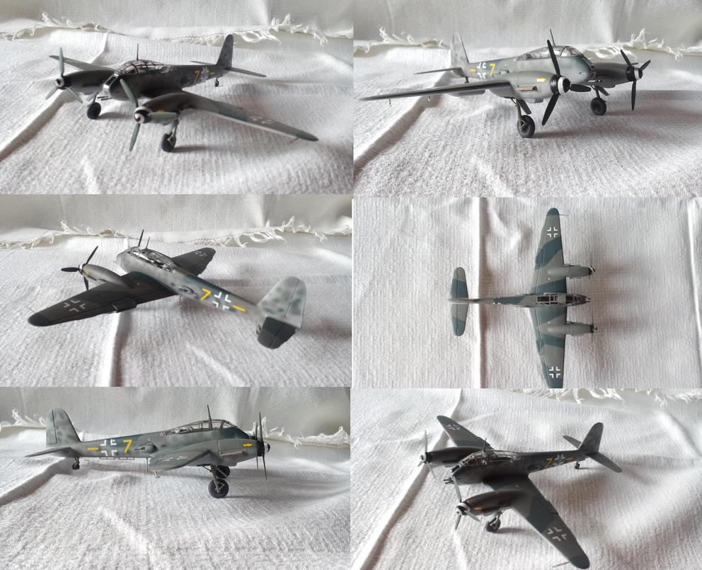 Messerschmitt Me 410 B-2 Hornisse by Teratophoneus