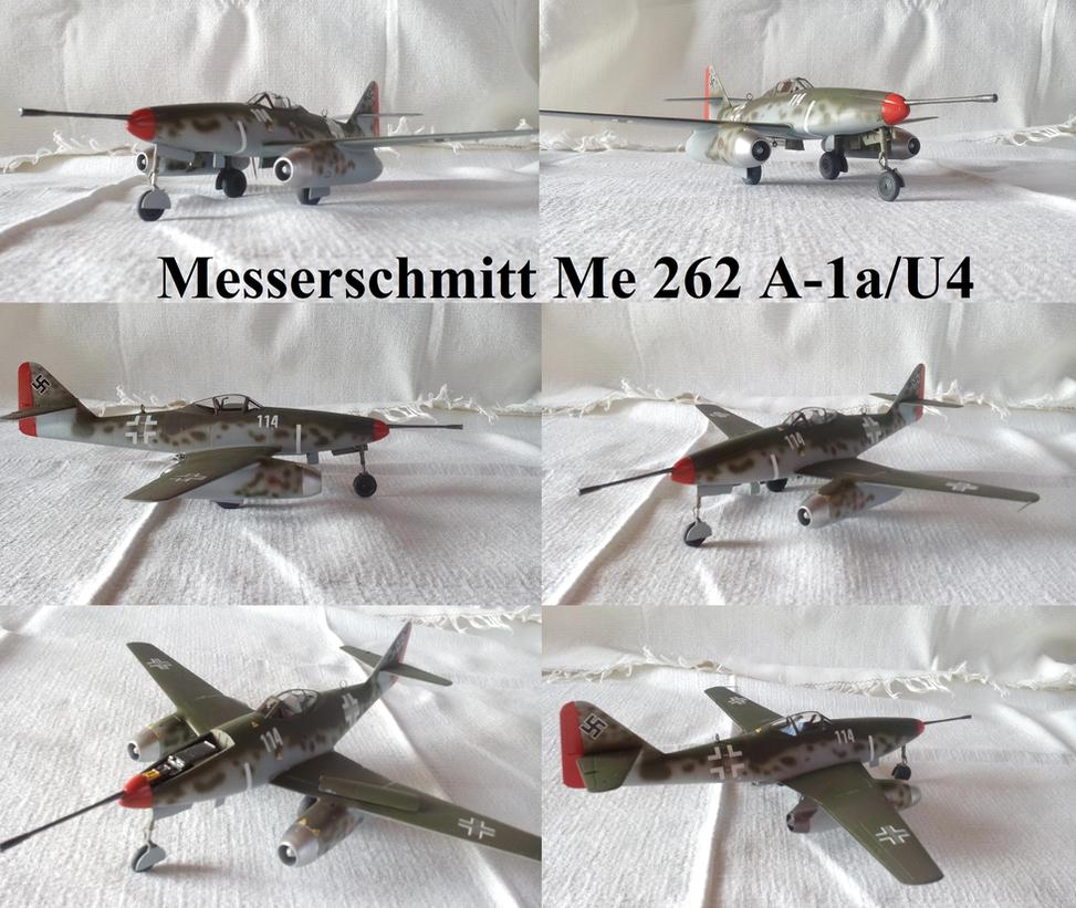 Messerschmitt Me 262 A1a U4 by Teratophoneus