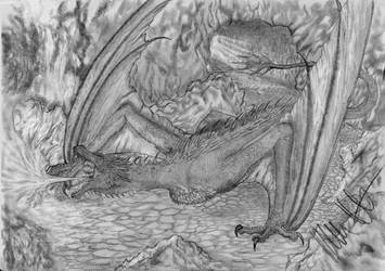 Crowned Firedrake by Teratophoneus