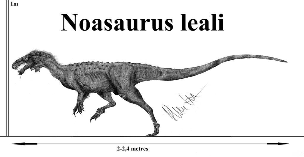 Noasaurus leali by Teratophoneus