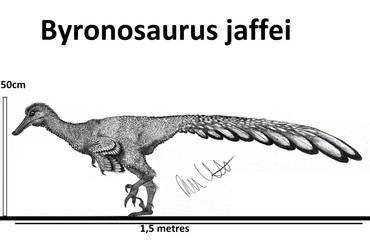 Byronosaurus jaffei by Teratophoneus