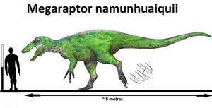 Megaraptor namunhuaiquii by Teratophoneus