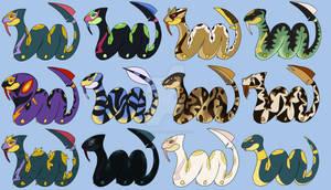 Pokemon Variations: Seviper