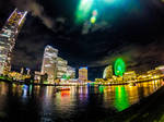 Yokohama's bright lights