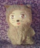 Cowardly Lion Mini Plushie by snowtigra