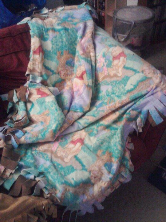 Winnie The Pooh Throw Blanket2 By Snowtigra On Deviantart