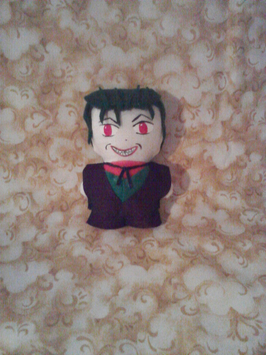 Joker Mini Plushie by snowtigra