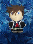 Kingdom Hearts 2 Sora Mini Plushie by snowtigra