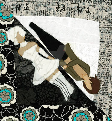 Doll Quilted Picture