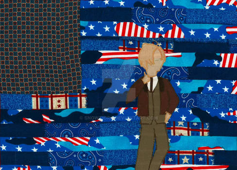 America Quilted Wallhanging