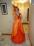 Flame Princess Dress - Test Shot 2