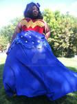Wonder Woman in the Wind