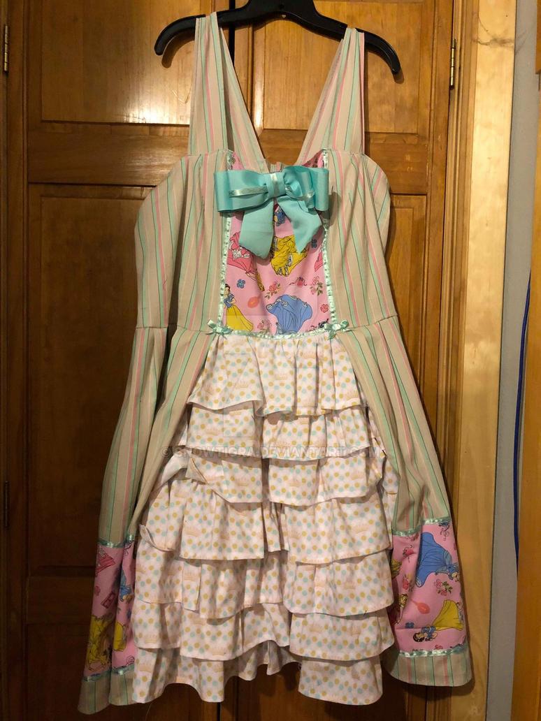 Disney Princess Lolita Style Dress by snowtigra