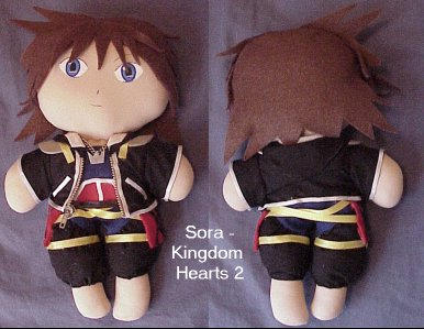 Sora - Kingdom Hearts 2 by snowtigra