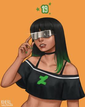 DeviantART girl feat. Eclipse
