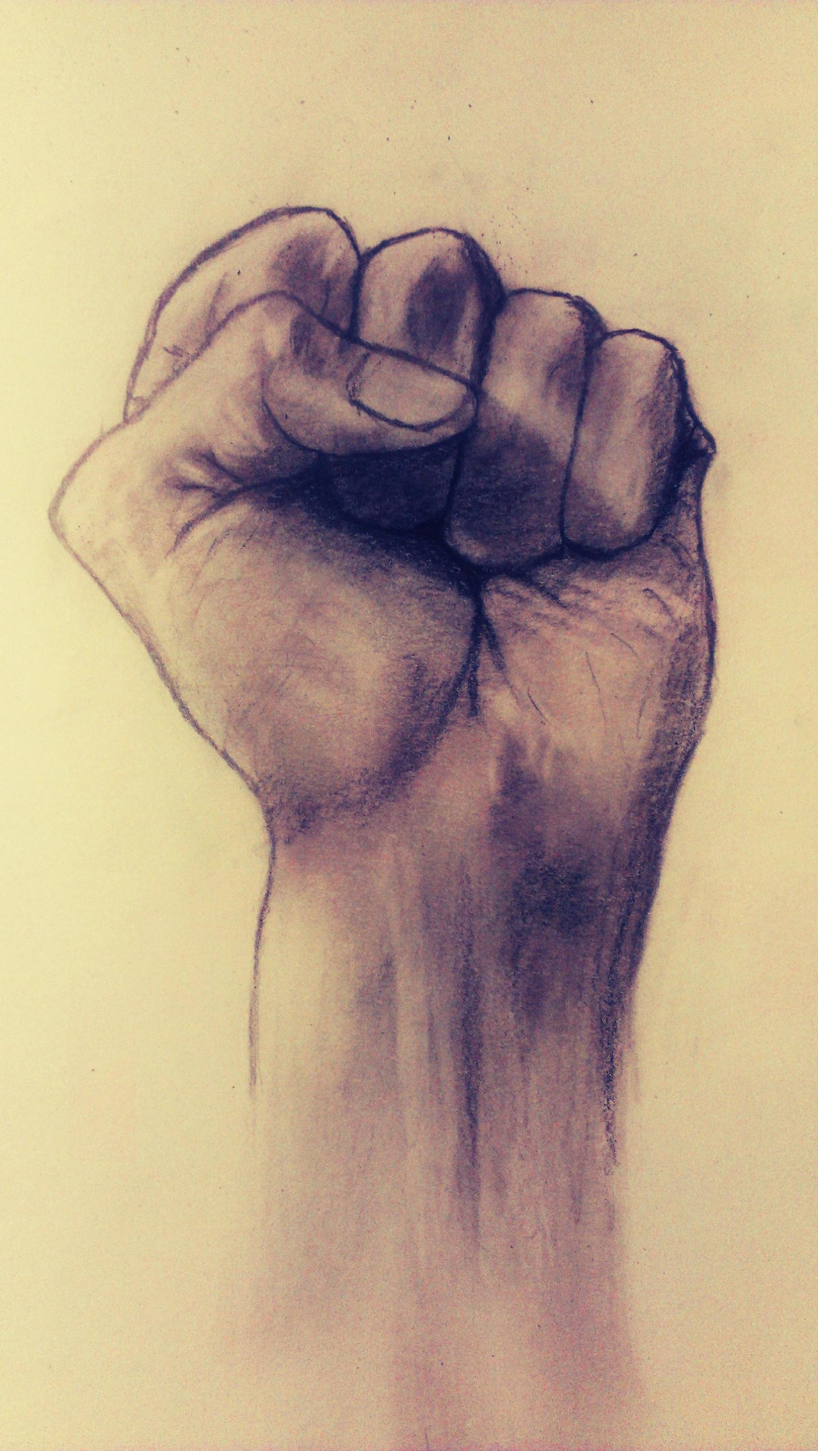 My left hand by KrzaczeK93
