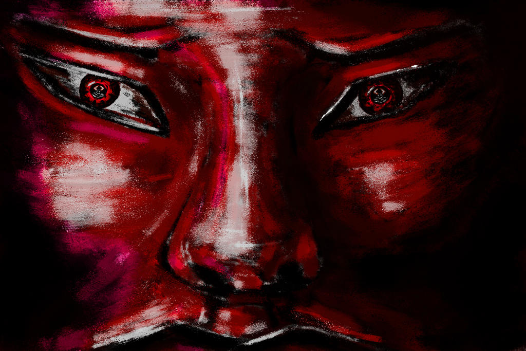 Bardzo dziwny i czerwony by KrzaczeK93
