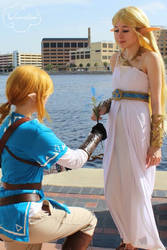 Here princess zelda  by AnimeIsMySugar