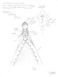 Anna's wedding dress by InesMLL