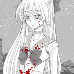 Sailor Venus by lisGinka
