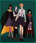 Sailor Moon x Harry Potter 3