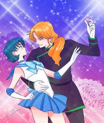 Sailor Mercury / Zoisite by lisGinka