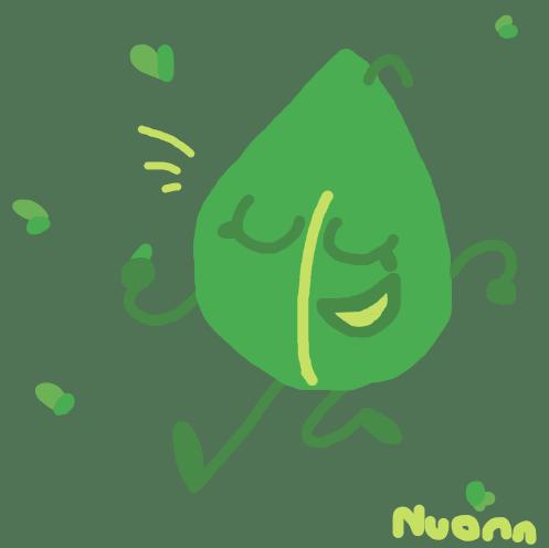 BFDI + Tipper Palette Challenge:] Leafy by Nuonne on DeviantArt