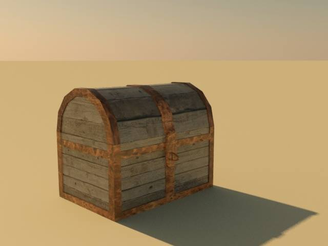 Simple Treasure Chest by kamagawa