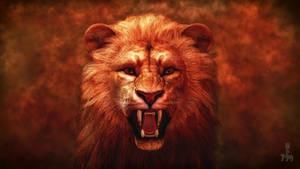 Lion Proud