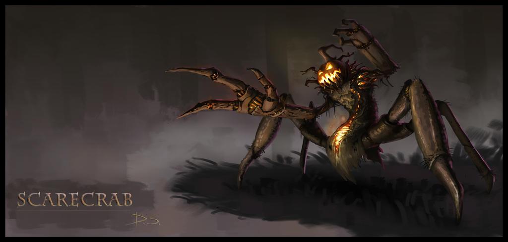 ScareCrab!! by JudgementPanda