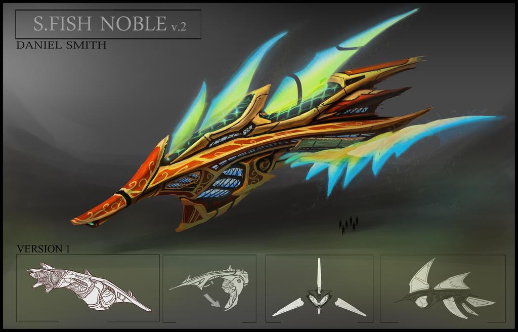 Sword Fish Noble by JudgementPanda