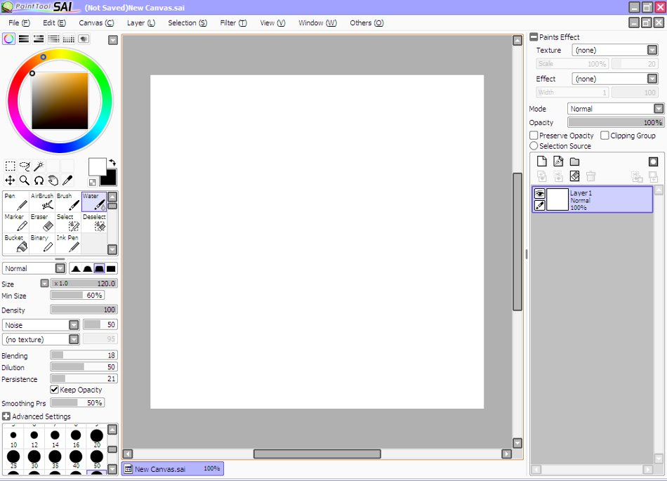 easy paint tool sai download