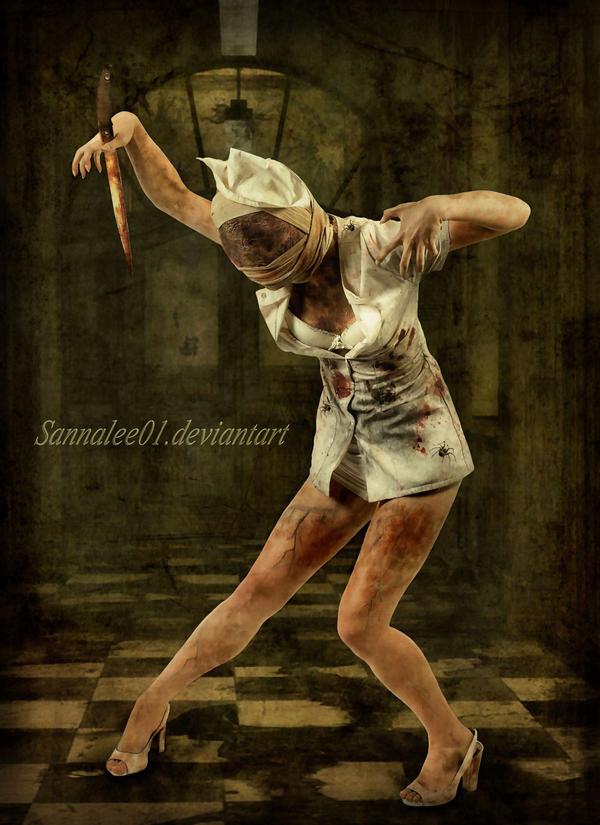 Silent Hill Nurse by Sannalee01
