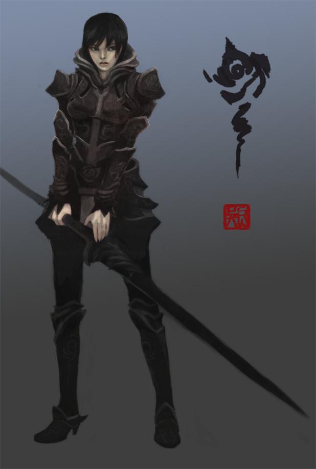Amalia the Black Rose by Enu-kamesama