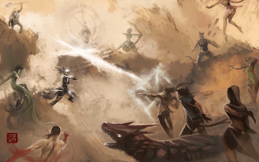 Battle of the 12 Redux by Enu-kamesama
