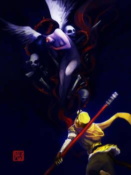 Monkey King and Bone Demon