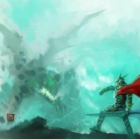 Dragonslayer by Enu-kamesama