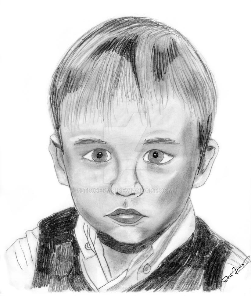 Riley in pencil by tiggermn