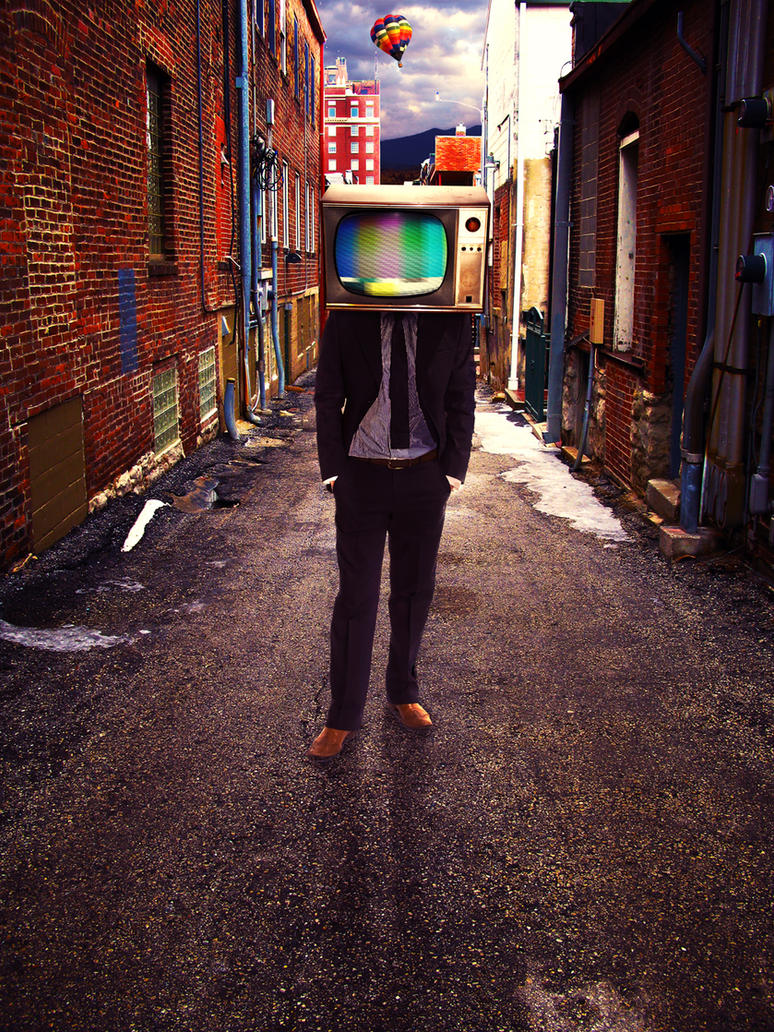 tv head by celesteajburke on deviantart