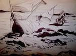 Ball Point Pen Shipwreck