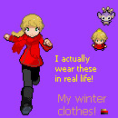 My Winter Clothes by LittleAipomGirl