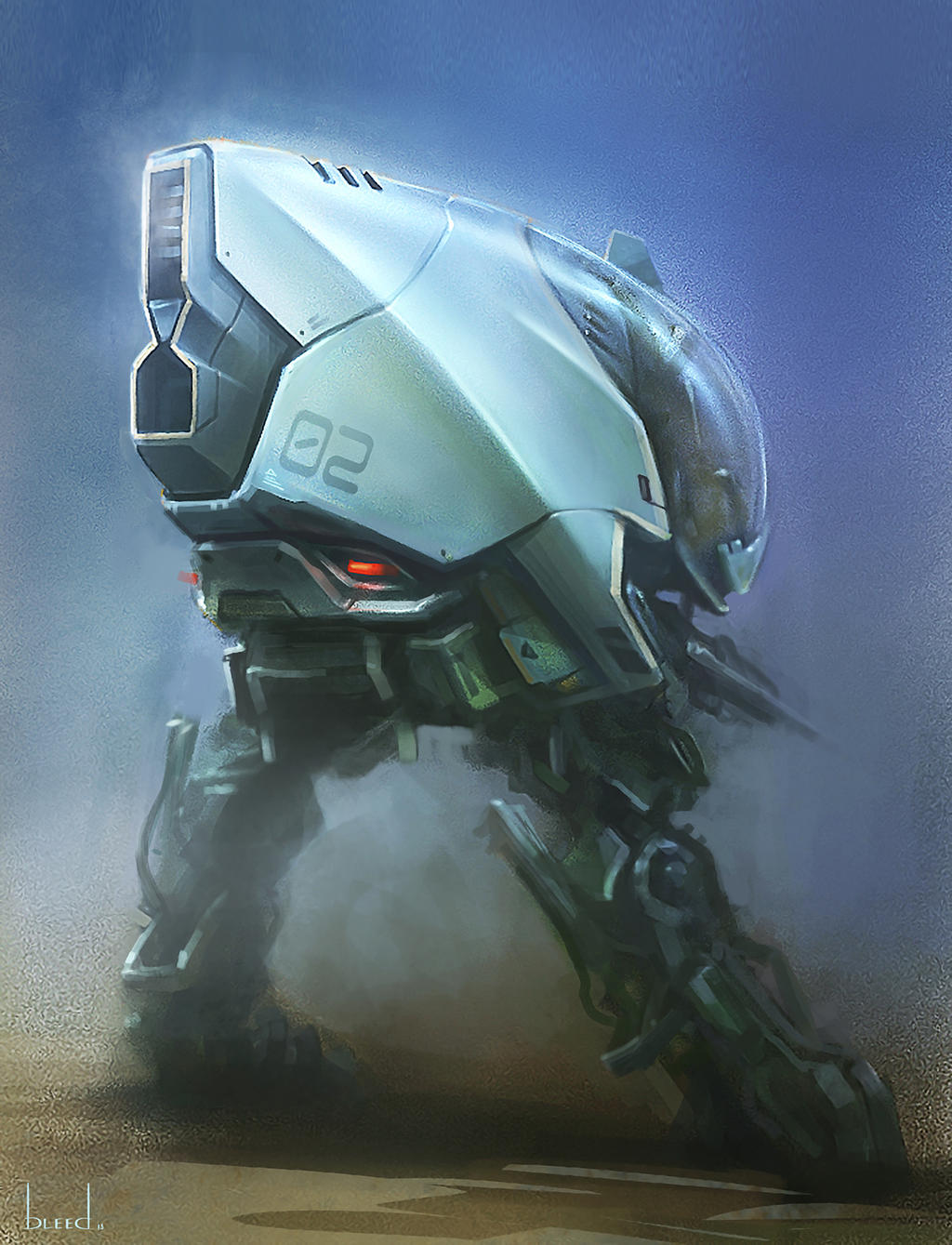 Mecha by blee-d