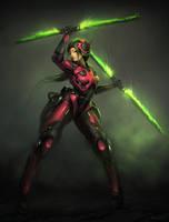 Xybr Emerald by blee-d
