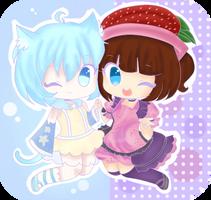 Collab: Kawaii Friends! by StrawberryDani