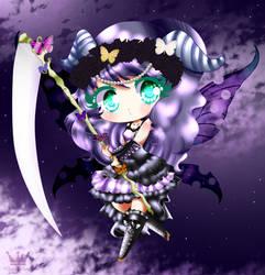 C: Midnight butterfly by StrawberryDani